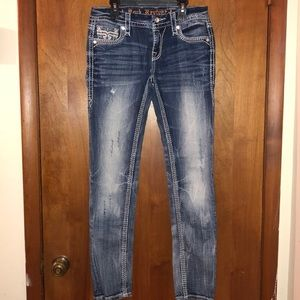 Rock Revivals Fay Easy Cuff Skinny Size 27